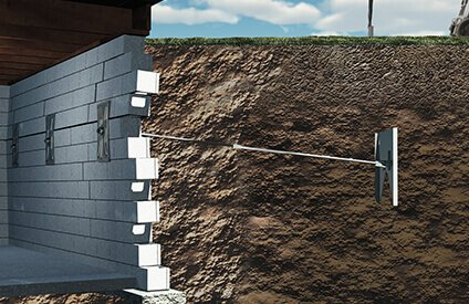 Bowed Wall Repair Experts - Bowed and Leaning Basement Walls | American  Eagle Prof. Services Inc.
